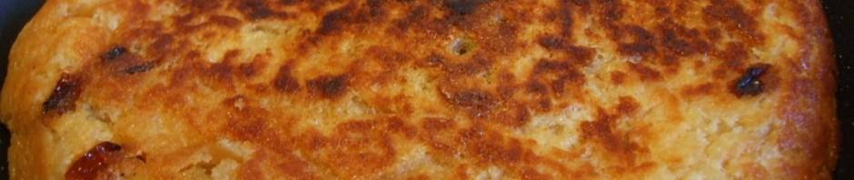 פשטידת לחם במחבת