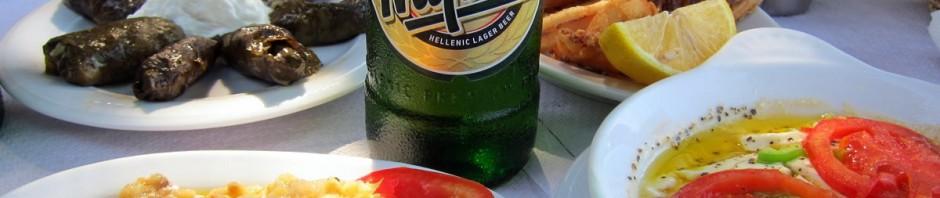 טעימות מחופשה בקוס - מזה יווני טיפוסי