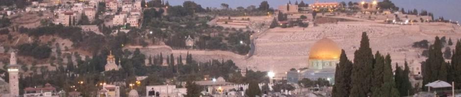ירושלים, הנוף מבר היין של מרכז נוטרדאם