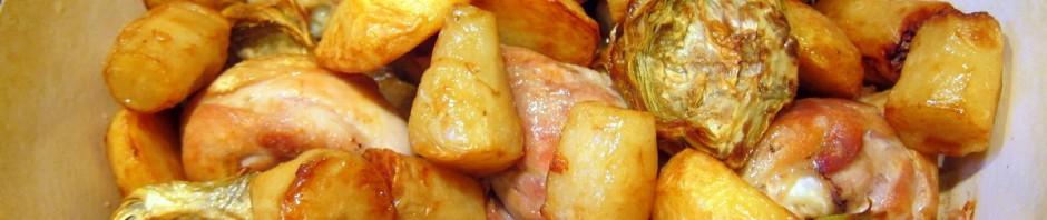 סופריטו עוף, ארטישוק, ארטישוק ירושלמי ותפוחי אדמה