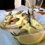 דגים מטוגנים, עזיזה