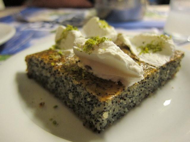 היכולת להגיש עוגות סולת שאינן מתוקות מדי היא יכולת שיש ללמד בבתי ספר מתמחים, בעיני